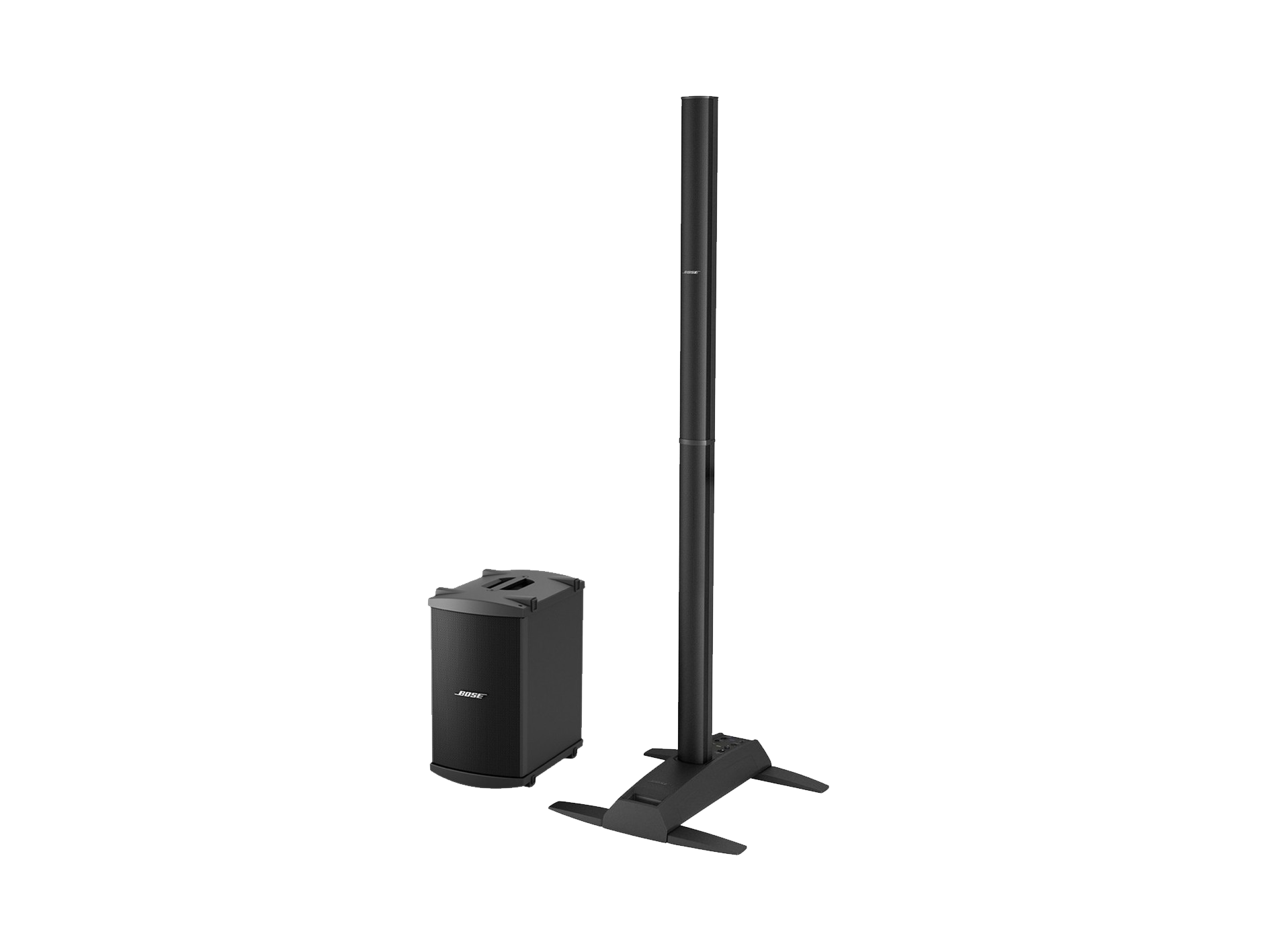 Hire a Bose L1 PA speaker system with subwoofer