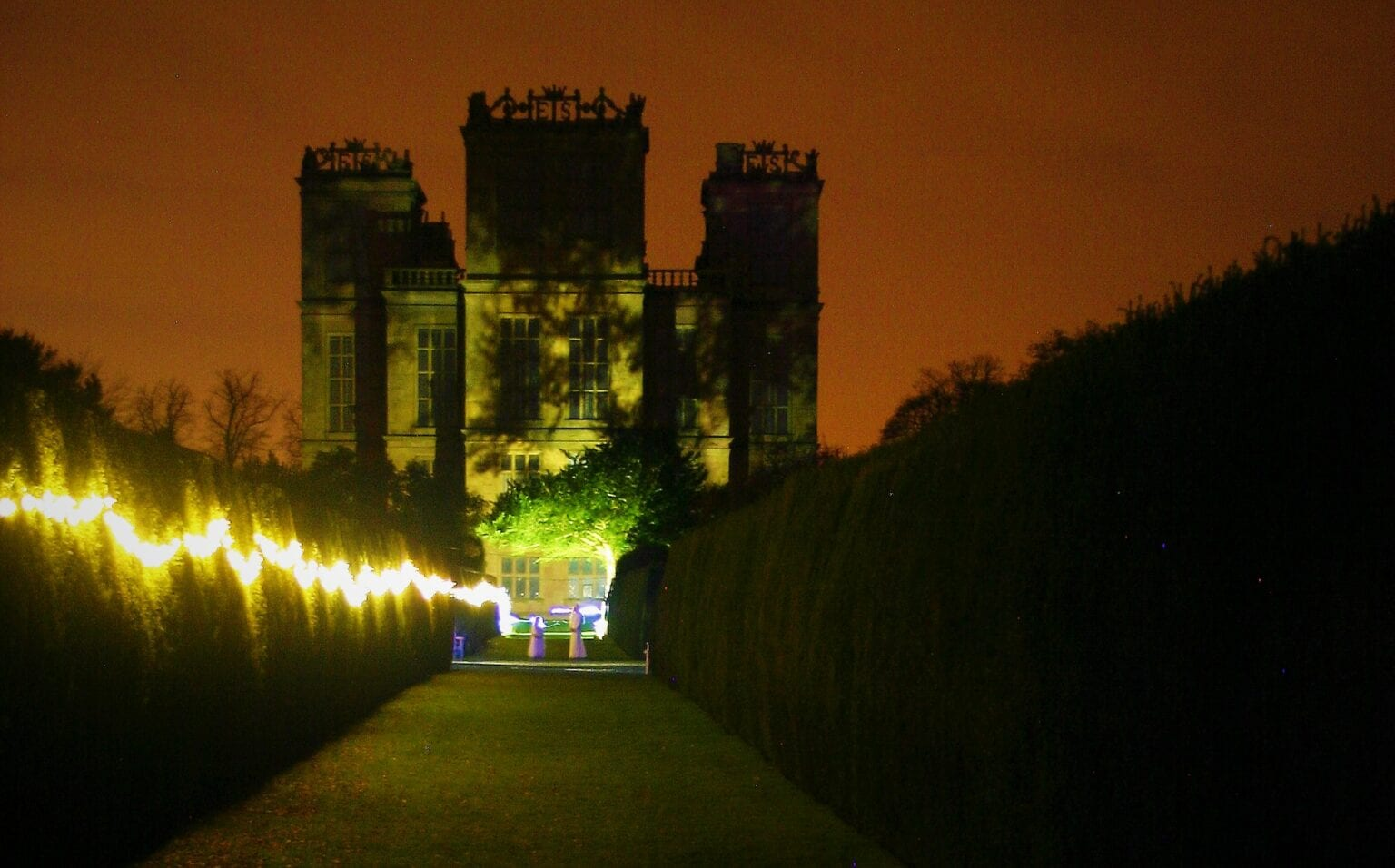Halloween Events management services for Hardwick Hall in Chesterfield