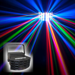 LED Par Can Lighting Effects for hire