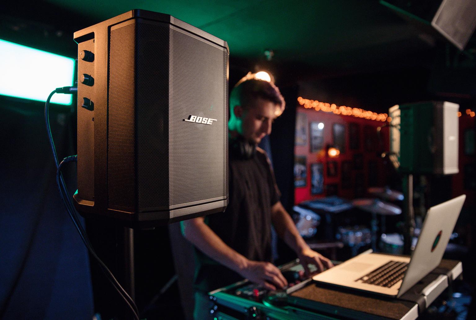 night club pa speaker system installation for DJ sets