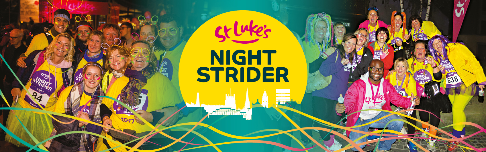 EES Showhire provide event management services to the Sheffield Night Strider charity event on behalf of St Luke's Hospice
